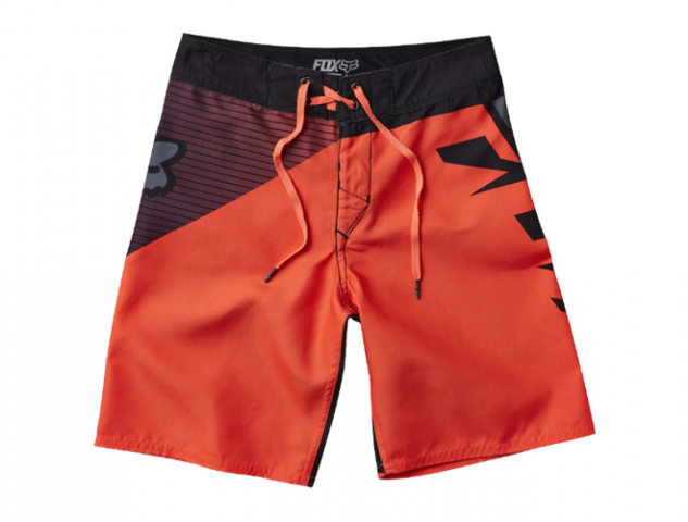 COSTUME BAMBINO DIAMOND BOARDSHORT RED